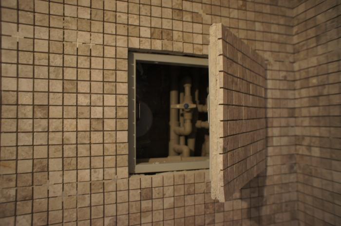 Люк под мозаику шаркон нажимной люк невидимка в краснодаре